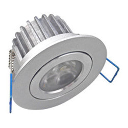 Led ceilng light - 4.5W high power(3 pcs of led) led downlight with external driver,100-240V AC, dimmable is available.lamp head is fixed, and aluminum fixture by color white or silver,CCT 3000k(warm white)-4000k(natural white)-6000k(cool white),15/24/60 degree beam angle. Dia-70mm, cut hole-60mm Suitable for home,office,hotel ect.