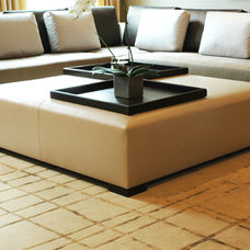 Modern Footstools And Ottomans by Aguirre Design