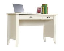 Sauder - Sauder Shoal Creek Computer Desk in Soft White Finish - Sauder - Computer Desks - 411204