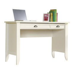 Sauder - Sauder Shoal Creek Computer Desk in Soft White Finish - Sauder - Computer Desks - 411204 -