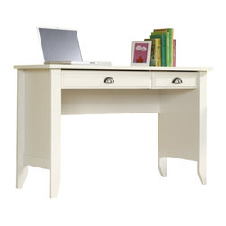Sauder - Sauder Shoal Creek Computer Desk in Soft White Finish - Sauder - Computer Desks - 411204