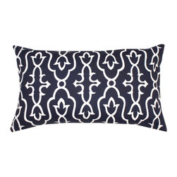 DD - Ink Blue Maira Indoor - A timeless geometric pattern in a Moroccan style will be the perfect touch to your home