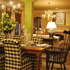 Traditional Dining Room by Mizell & Moore Interiors Dallas