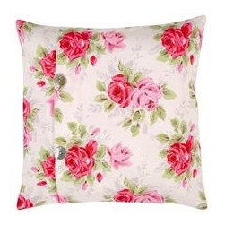 Rose Cushion Cover - I'm not a big fan of floral chintz, but I appreciate it in small doses. No one does English florals better than Cath Kidston, and these pillows would look good on a bench or window seat in a kitchen.