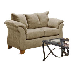 Chelsea Home Furniture - Chelsea Home Payton Loveseat in Sensations Camel - Payton loveseat in Sensations Camel belongs to Verona IV collection by Chelsea Home Furniture.