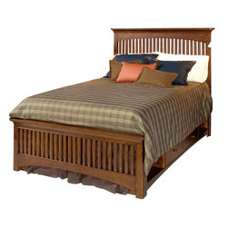 Lea Industries - Lea Elite Crossover 4-Piece Slat Kids' Bedroom Set in Burnished Cherry - Welcome to the Lea Elite collection , Crossover. A mixture of American Country, Arts and Crafts, and Shaker styles are blended to create this collection . The finish is a darker, burnished cherry with a lot of hand applied high lighting and accent; adding to the high style rustic and country design. The hardware is an antiqued brass color and adds even more simple to appeal to Crossover. design details such as the tapered posts accentuated with wood plugs add to the hand crafted motif. Crossover is a versatile group that fits children's and teen rooms, condos, and even smaller master bedrooms.