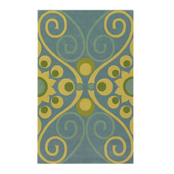 "Emma At Home EMM19902 Designer Rug - 5' x 7'6"" - Award-winning designer Emma Gardner, chief designer and principal at emma gardner design, has been creating striking and vibrant rugs for consumers, interior designers and architects since 2002 from her Litchfield, Connecticut studio."