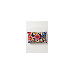Dianthus Tile Pillow - Anthropologie.com