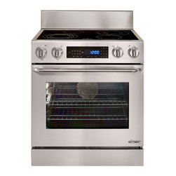 """Dacor Distinctive 30"""" Freestanding Electric Range, Stainless Steel 