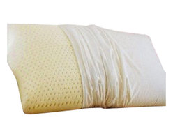 Pacific Coast Feather Company - Restful Nights Natural Latex Foam Pillow, King - Restful Nights Natural Latex Foam Pillow - King100% Talalay latex provides full, springy support and comfort and naturally resists bacterial growth. Ventilated design allows air to circulate through interconnecting channels for a cooler, fresher sleep experience.