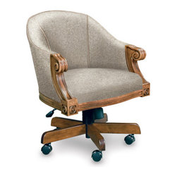 California House - ivey swivel game chair (fabric) - Manufactured in the USA, we are proud to offer our customers this premium game room furniture from a third generation, family-owned company.