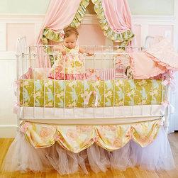 RR - Adria Baby 3-Piece Crib Bedding Set - Adria Baby 3-Piece Crib Bedding Set