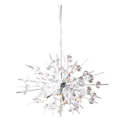 Solaria Lighting - Bubbles Chrome Chandelier - Finish: Chrome
