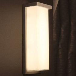 Ledge Indoor/Outdoor LED Wall Sconce by Modern Forms -