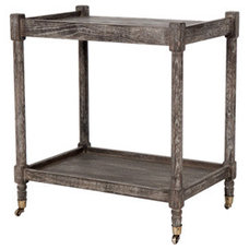 traditional bar carts by Jayson Home