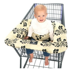 Balboa Baby - Balboa Baby Shopping Cart and High Chair Cover in Lola - The soft, quilted Balboa Baby Shopping Cart and High Chair Cover provides a clean and secure environment for babies. It creates a comfortable nest for baby with a 360° germ free zone.