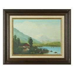 Ramy - Consigned Vintage French Oil Painting Signed Plein Air - Product Details