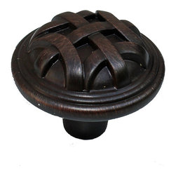 GlideRite - GlideRite 1.25-inch Oil Brushed Bronze Round Braided Cabinet Knobs (Case of 25) - Update your kitchen cabinets or bathroom vanities with these beautiful cabinet,dresser or drawer knobs.  These cabinet pulls come in a case of 25 and include installation screws.