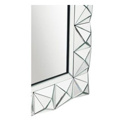 Gibraltar Rectangle Wall Mirror - 30W x 40H in. - About KichlerKichler designers travel the world to discover the latest trends in exterior and interior style, colors, and designs. They then translate the best of those trends into fixtures that will bring beauty, pleasure, and light into your home. Kichler fixtures stand the test of time and are functional works of art that you're sure to treasure.