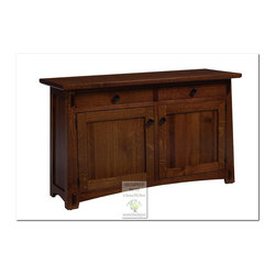 Mission Console Tables - 100% HANDCRAFTED IN THE UNITED STATES BY OUR MASTER-CRAFTSMAN AND GUARANTEED FOR LIFE!