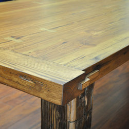 Reclaimed Wood Farm Tables -