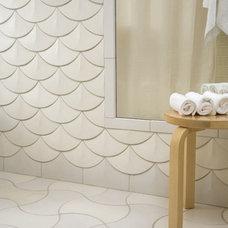 Eclectic Bathroom by Filmore Clark