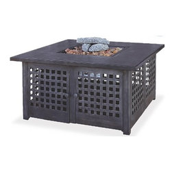 UniFlame Gas Fire Bowl GAD920SP - Fire pits have evolved from caves and campsites to become a central part of modern day outdoor living.