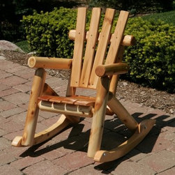 Adirondack Children's Rocking Chair - I love that this chair rocks; it would keep my children busy for a long time.