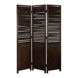 """BZBZ73689 - Wood Screen 69""""H, 48""""W - This 3 panel room divider is 69"""" High and 48"""" Wide. Bring home the best of decorative protection and privacy screen to bring completeness to existing decor. Just have a look over 73689 wood screen; it is ultimate in its category."""