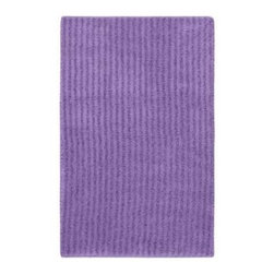 "Garland Rug - Bath Mat: Accent Rug: Sheridan Purple 24"" x 40"" Bathroom - Shop for Flooring at The Home Depot. Beautify your bathroom and make your feet happy with Sheridan Bath Rugs. These rugs will compliment any bathroom decor. The distinctive stripe pattern gives a modern, but yet traditional sleek design. Sheridan is made with 100% Nylon for superior softness and colorfastness. Proudly made in the USA."