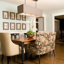 Traditional Dining Room by Eclectic Design Source