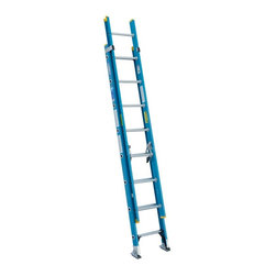 Werner - Werner D6016-2 16 ft. Fiberglass Extension Ladder Multicolor - 3720-5515 - Shop for Ladders from Hayneedle.com! Built to withstand weather job sites and home use the Werner D6016-2 16 ft. Fiberglass Extension Ladder is a durable and dependable piece of equipment. This ladder is constructed with non-conductive fiberglass side rails and features serrated aluminum flat steps for sure footing. Other features include non-marring molded end caps and rail closures. About WernerWerner is an industry leader that has manufactured and distributed ladders and climbing equipment for over 60 years. Werner ladders are found on more trucks and job sites than all other brands combined. Each product offers a state-of-the-art design and manufacturing process creating professional-grade products that are made to be utilized in the home as well as on the job site. Werner Co. products are built to meet or exceed all applicable American National Standards Institute (ANSI) and Occupational Safety and Health Administration (OSHA) code requirements.
