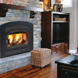 Vermont Castings Merrimack Series 32'' x 26'' Non-Catalytic Wood Burning Insert - You can be confident you'll stay warm with this insert featuring automatic air control! Plus, it's EPA certified as one of the cleanest burning inserts available.