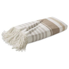 modern throws by Williams-Sonoma