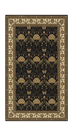 Momeni - Momeni Persian Garden Fanfare PG-12 Oriental Rug - Charcoal Multicolor - PERGAPG - Shop for Rugs and Runners from Hayneedle.com! The Momeni Persian Garden Fanfare PG-12 Oriental Rug - Charcoal features an inviting palette in shades of grey gold ivory red brown and green. Large golden blooms give it a lively appearance. Part of the Persian Garden Collection this exquisite rug was inspired by rare Persian antique pieces. Although traditional in design this unique power-loomed rug boasts modern-day interpretations and contemporary color schemes. It will enhance your personal style and transitional decor. Crafted using 100% New Zealand wool it features an abrash effect and hand-serged edges for a quality finish. This rug has been imported directly from China for you.Sizes offered in this rug:Following are all sizes for this rug. Please note that some may be currently unavailable due to inventory. Also please note that rug sizes may vary by up to 4 inches in dimensions listed.Dimensions:2 x 3 ft. Rectangle3 x 5 ft. Rectangle5 x 8 ft. Rectangle8 x 10 ft. Rectangle9.6 x 13.6 ft. Rectangle5 ft. Round8 ft. Round2.6 x 8 ft. RunnerHow to Care for Your RugIn order to keep your rug in the best possible condition we recommend vacuuming once a week to prevent moth problems. Take care not to vacuum any fringes as they may pull. The rug should not be exposed to sunlight on a regular basis as this causes fading and unevenness in the colors. If a spill should occur remove it quickly by tapping the stained area with a damp paper towel before using a spoon to retract excess spillage. Should the stain be from a dark liquid use a moist towel with soap and water. Take care not to leave the rug wet as this may result in mildew and rotting. For deep cleaning take your rug to a professional dry cleaner.About Momeni RugsMomeni a family name a mark of quality and an expert source of ideas for making your home come alive with true timeless beauty was established half a century ago when 