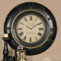 "6709 Rudy, Clock by Uttermost - Get 10% discount on your first order. Coupon code: ""houzz"". Order today."