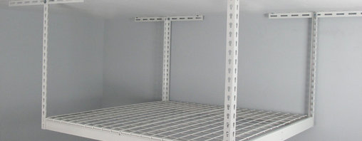 4x4 Overhead Garage Storage Rack (SafeRacks) - - 4x4 SafeRack can hold up to 300lbs.