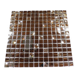 Medallions Plus - Stainless Steel Mosaic Backsplash Tile Stain Less Tiles Kitchen Tile Bathroom - Item Description