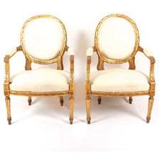 Traditional Armchairs And Accent Chairs by Lola & Bess LLC