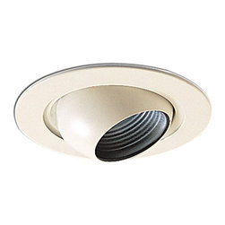 "Nora Lighting - Nora NL-418 4"" Adjustable Eyeball with Baffle, Nl-418wb - 4"" Adjustable Eyeball with Baffle"