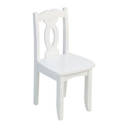 KidKraft Brighton Chair - White - What We Like About This Kids ChairCrafted from solid wood our Brighton chair is a high-quality addition to every child's room. Available in a variety of colors with gently curved legs and a Chippendale-inspired back this chair is both sturdy and stylish. About KidKraftKidKraft is a leading creator manufacturer and distributor of children's furniture toy gift and room accessory items. KidKraft's headquarters in Dallas Texas serve as the nerve center for the company's design operations and distribution networks. With the company mission emphasizing quality design dependability and competitive pricing KidKraft has consistently experienced double-digit growth. It's a name parents can trust for high-quality safe innovative children's toys and furniture.