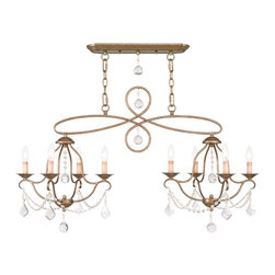 Livex Lighting - Livex Lighting LVX-6437-48 Island/Chandelier - Livex Lighting LVX-6437-48 Island/Chandelier