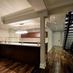 contemporary basement by MEMAR DESIGN
