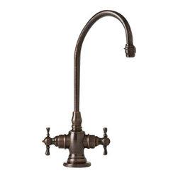 Waterstone - Waterstone Bar Faucet - Cross Handles - 1550-AP - Bar Faucet - Cross Handles