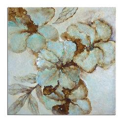 Uttermost - Uttermost 34260 Fairy Blooms Floral Art - Uttermost 34260 Fairy Blooms Floral Art