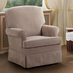 Dutailier Upholstered Collection Swivel Glider