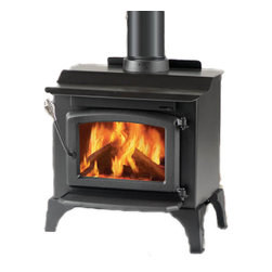 Majestic Products - Monessen WR1000L02 Windsor Non-Catalytic Wood Burning Stove - Monessen WR1000L02--Windsor Steel Wood Stove - Small with Cast Legs