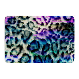 "KESS InHouse - Gabriela Fuente ""Wild"" Memory Foam Bath Mat (24"" x 36"") - These super absorbent bath mats will add comfort and style to your bathroom. These memory foam mats will feel like you are in a spa every time you step out of the shower. Available in two sizes, 17"" x 24"" and 24"" x 36"", with a .5"" thickness and non skid backing, these will fit every style of bathroom. Add comfort like never before in front of your vanity, sink, bathtub, shower or even laundry room. Machine wash cold, gentle cycle, tumble dry low or lay flat to dry. Printed on single side."