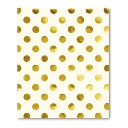 Kate Spade - kate spade Spiral Notebook - Gold Dots - These spiral notebooks by kate spade new york are perfect for any literary or film buff who wants to take down notes or jot down your next brilliant screenplay idea.