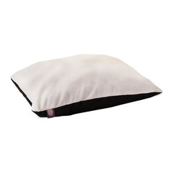 MAJESTIC PET PRODUCTS - Rectangle Pet Bed - Now this looks like a super-soft pillow on which to rest your head, but it's actually a comfy bed on which your dog rests his entire body. He'll easily climb aboard and quickly envelop himself in supreme comfort. Remember what they say: Let sleeping dogs lie.